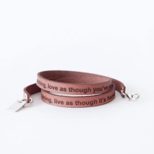 Words from the heart armband, nude-0