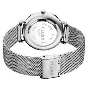 Cluse La Bohème Mesh Silver/White-1226