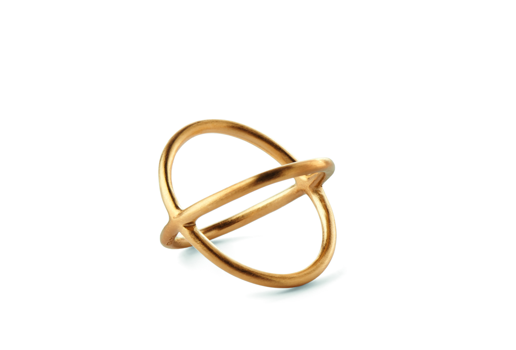 Pernille Corydon Crossed Ring-0