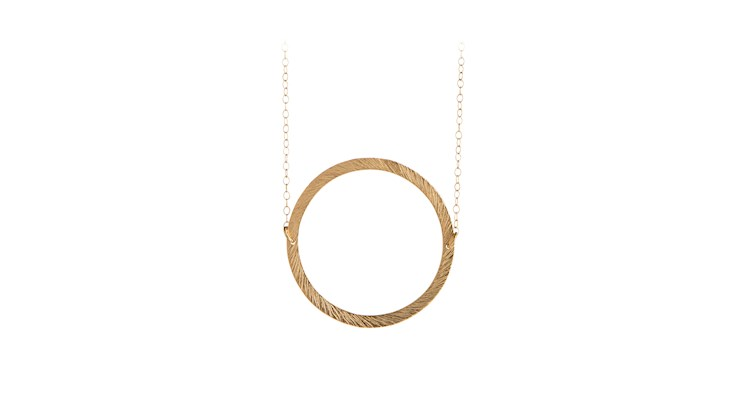 Pernille Corydon Open Coin Necklace-0