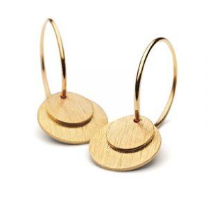 Pernille Corydon Small Coin Earring -0