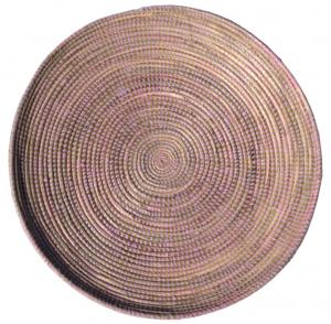 platte schaal licht roze-0