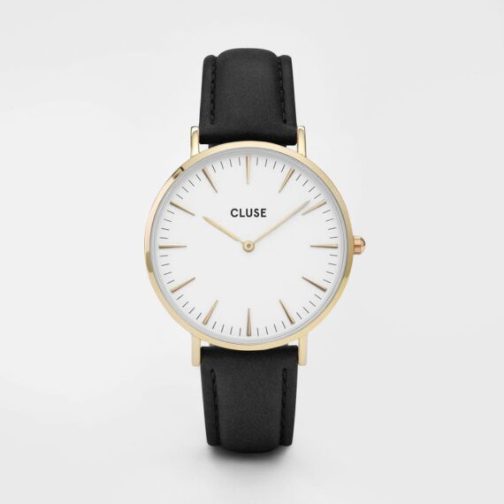 Cluse La Bohème Gold White/Black-0
