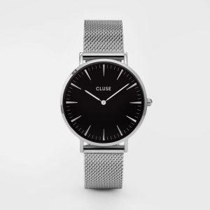 Cluse La Bohème Mesh Silver/Black-0