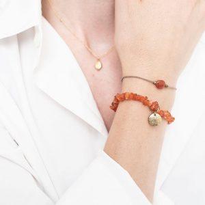 power_carnelian_butterfly_gemstonecard_bracelet